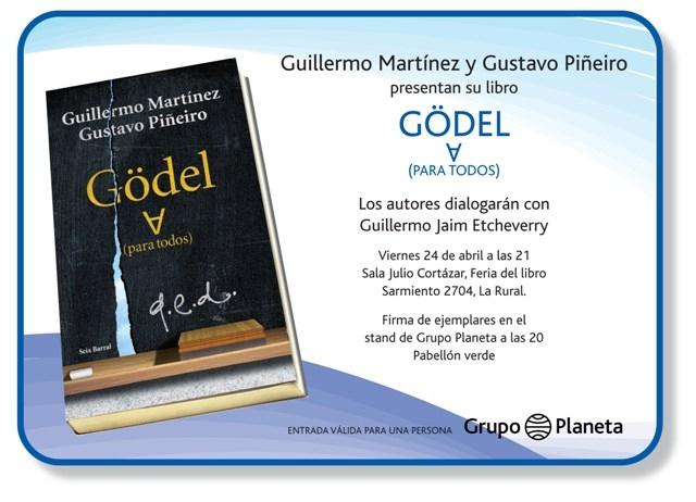 presentacion del libro godel para todos
